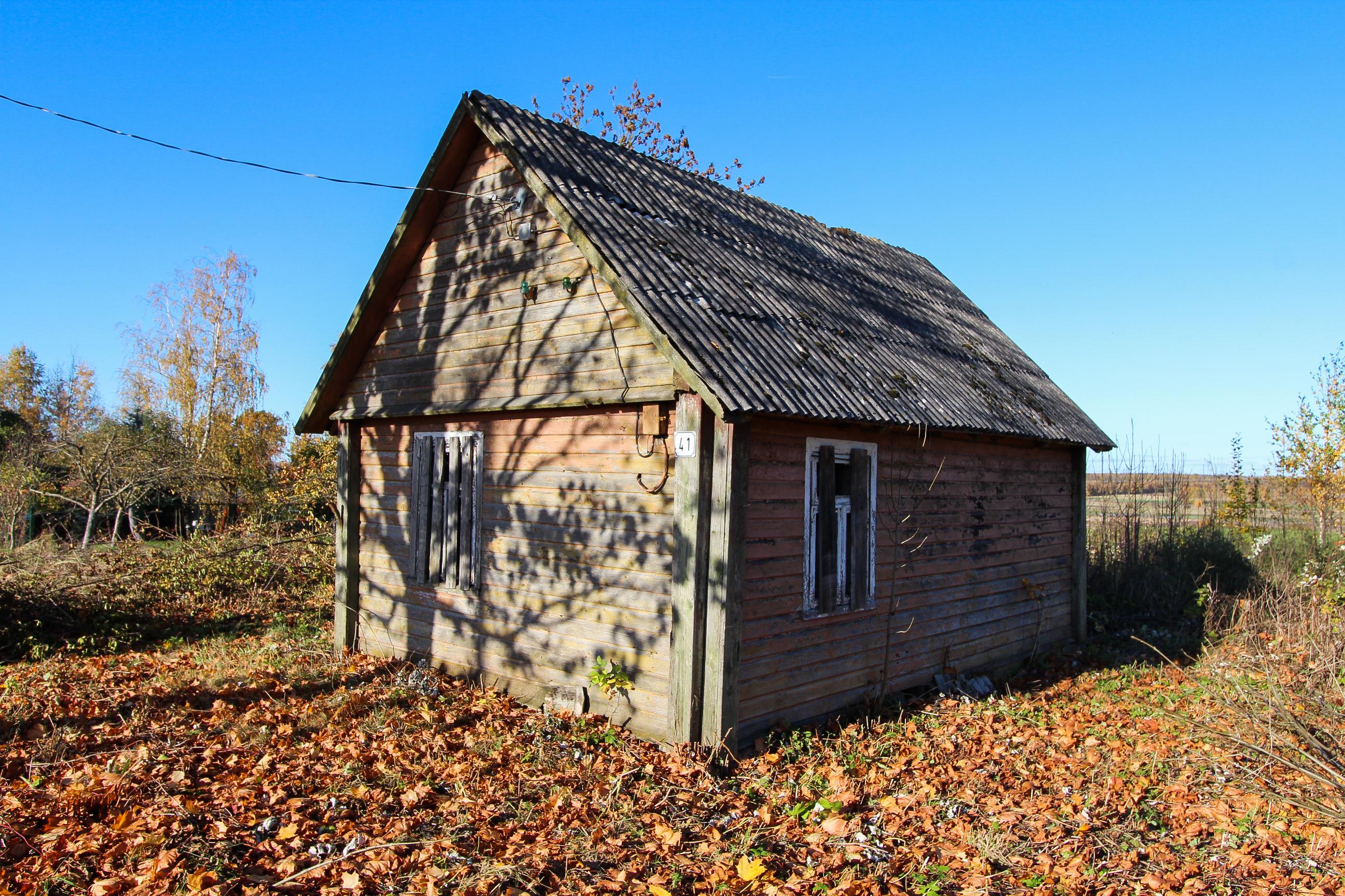 Namas Strėvos g. 41, Mediniuose Strėvininkuose, Kaišiadorių r.