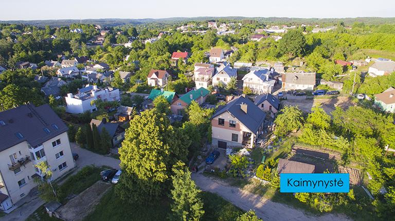 Vilniaus m., Butrimonių g. 21 6,5 a namų valdos sklypas šalia Rasų!