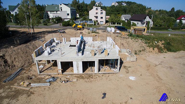 Elektrėnai, Slėnio g 16  (naujas projektas, 99 m2, miesto tinklai)