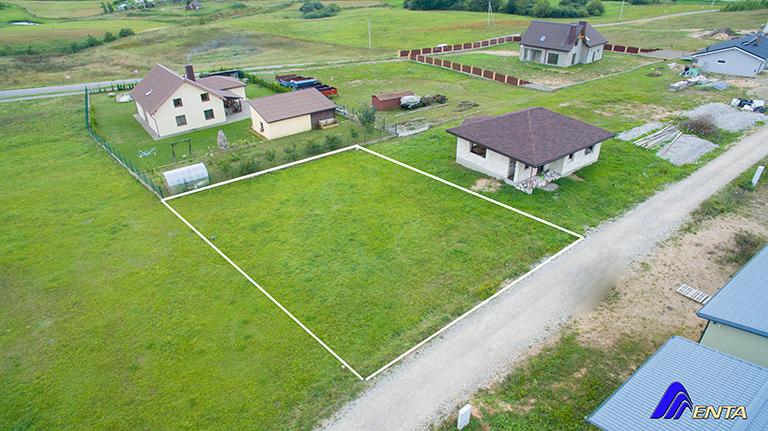 Šalia Vievio Lapiakalnyje namų valdos sklypas 6,27 arų su statybos projektu
