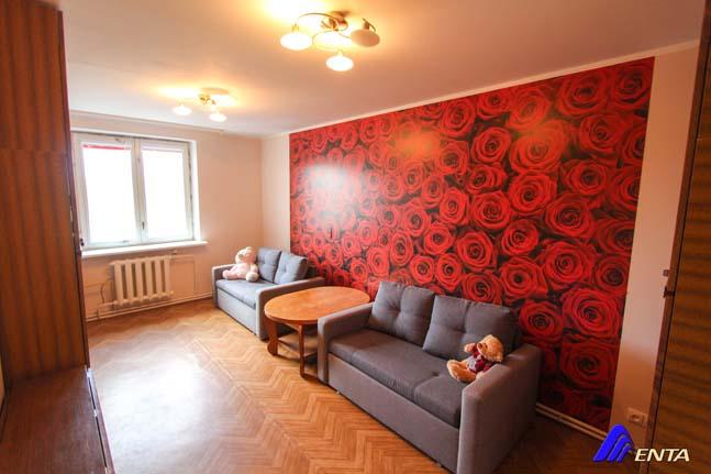 Parduodamas 4 kamb. butas Elektrėnuose su reguliuojamu šildymu!